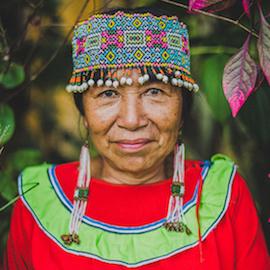 Maestra Shaman Lucinda Mahua Campos, Caya Shobo Ayahuasca Healing Retreat Centre