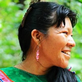 Maestra Maricela Rios Inuma, Caya Shobo Ayahuasca Retreat Center, Iquitos, Peru